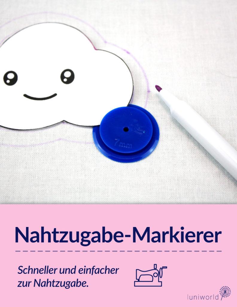 Pinterest Nahtzugabe-Markierer