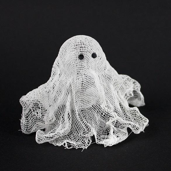 Kleine Geister Aus Waschestarke Und Kasetuch Selber Machen