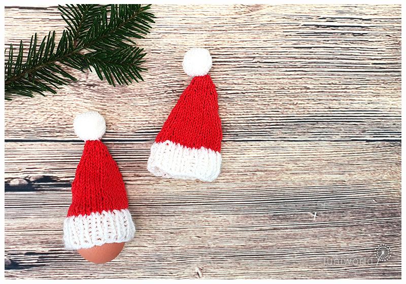 Weihnachtsmütze stricken